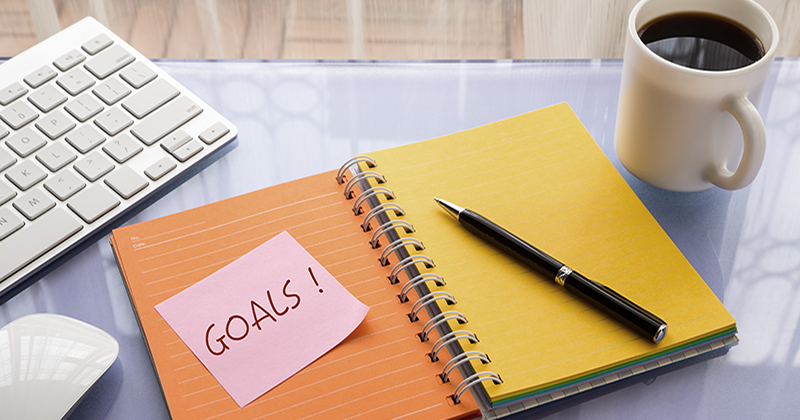 record your goals goal setting template